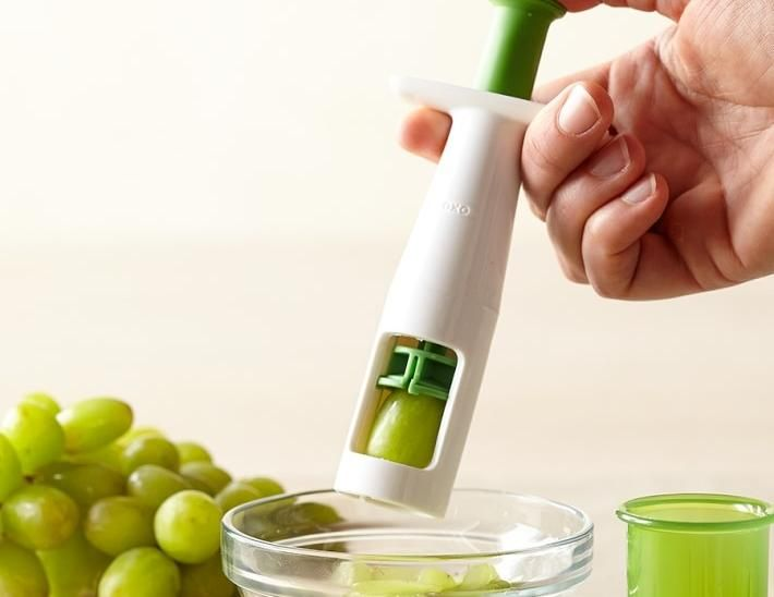 Amazon.com: OXO Tot Grape Cutter, Green: Baby