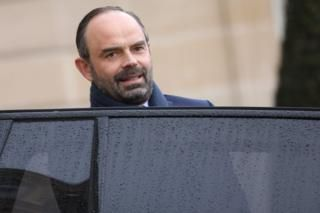 France labour: Firms to be fined over gender pay gap       7 March 2018                            Image copyright                  AFP             Image caption                                      Prime Minister Edouard Philippe hopes to push through a package of social reforms                ...