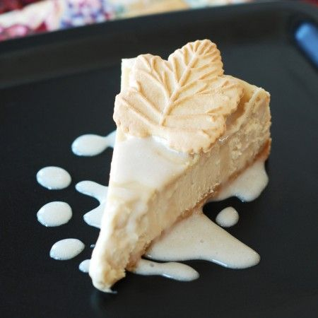 I think I'm going to try this tomorrow. Yum. Maple Cheesecake.
