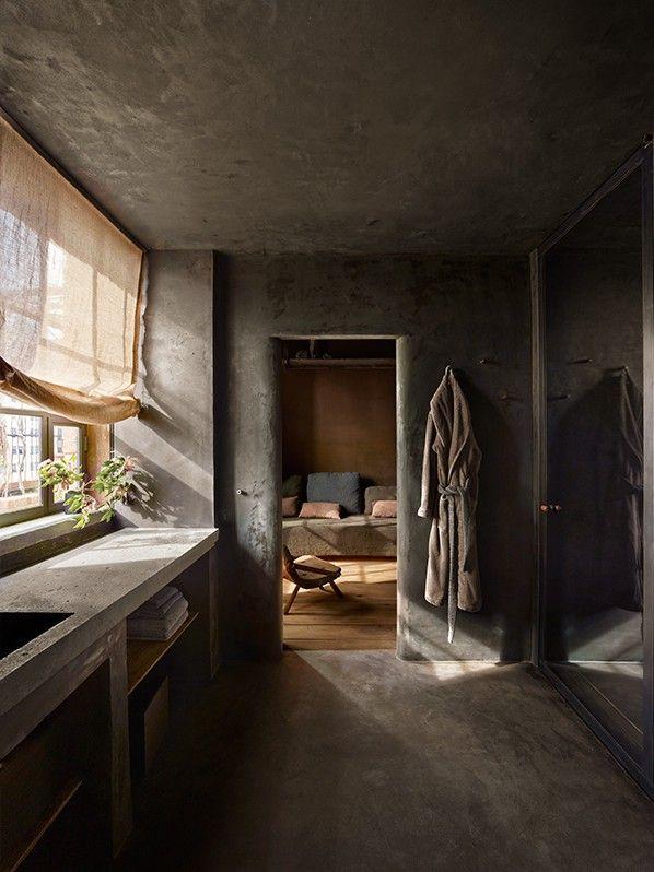 Axel Vervoodt, Greenwich Hotel Tribeca Penthouse, Master Bathroom   Remodelista