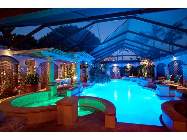 Luxury Homes With Indoor Pools 17 best florida luxury swimming pools images on pinterest | luxury