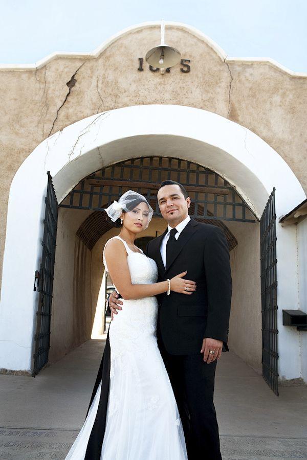 Kirby and Jake's Classic Black and White Wedding in Yuma, Arizona by Top Wedding Photographer Harrison Hurwitz
