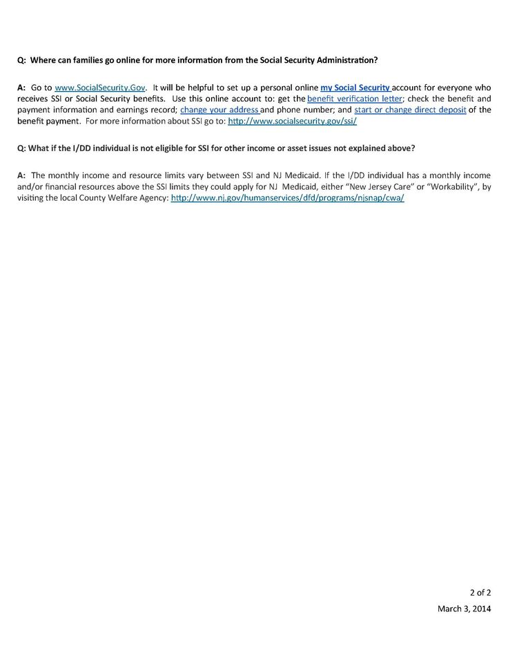 Page 2 - Why Social Security Income (SSI) and Medicaid are so - income verification letter