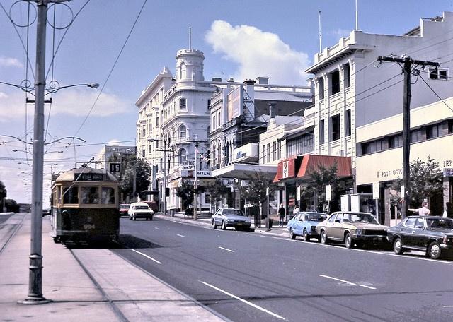 gm_00926 Fitzroy Street Tram, St Kilda, Melbourne Australia 1985 by CanadaGood,
