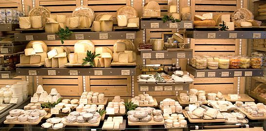 """""""CANTIN"""" cheese store : Next door to the Hotel Relais Bosquet, """"CANTIN"""" is a cheese store like you can find only in France, at a few steps from us, in our street. Marie Anne Cantin and her husband are cheesemonger masters, they manage in their store, rue du Champ de Mars to perpetuate one of the biggest gastronomy traditions in France: cheese.  www.cantin.fr  More about Cantin cheese store & Hotel Relais Bosquet: http://on.fb.me/AoSw0A"""