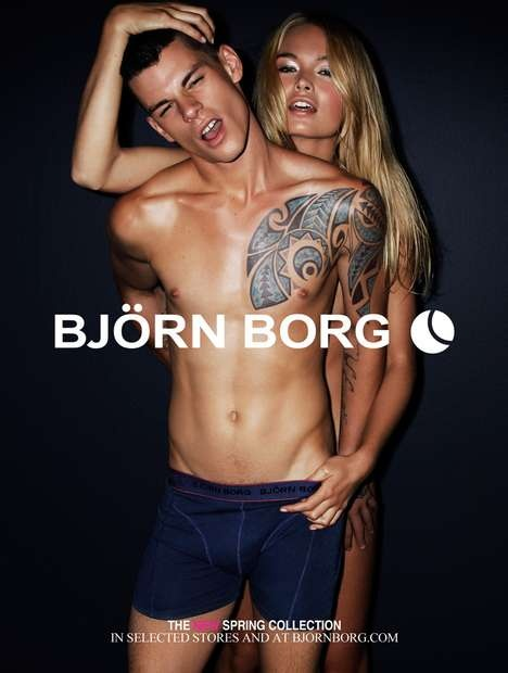 BJÖRN BORG are very good at display ads