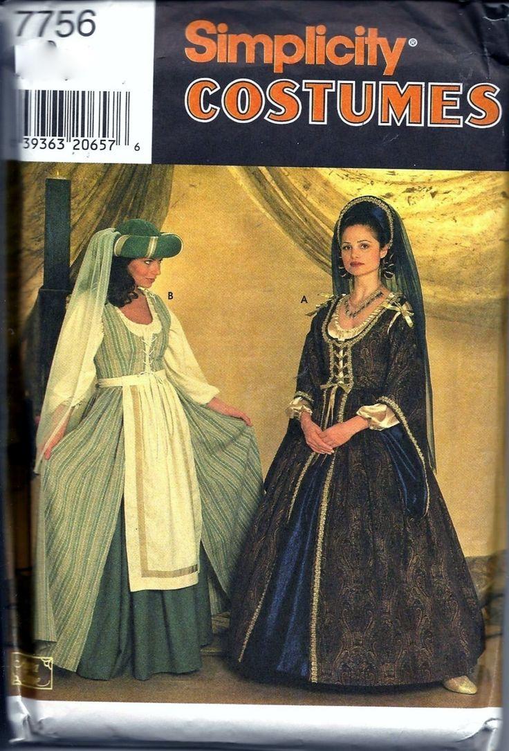 125 best Costumes & Historical Reenactors Costume Patterns images ...