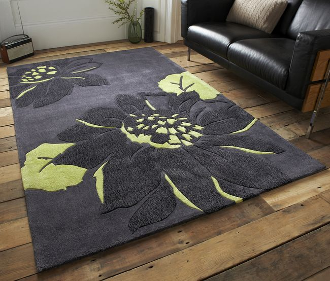 Noble House Charcoal Green Rugs Pinterest Floral Rug