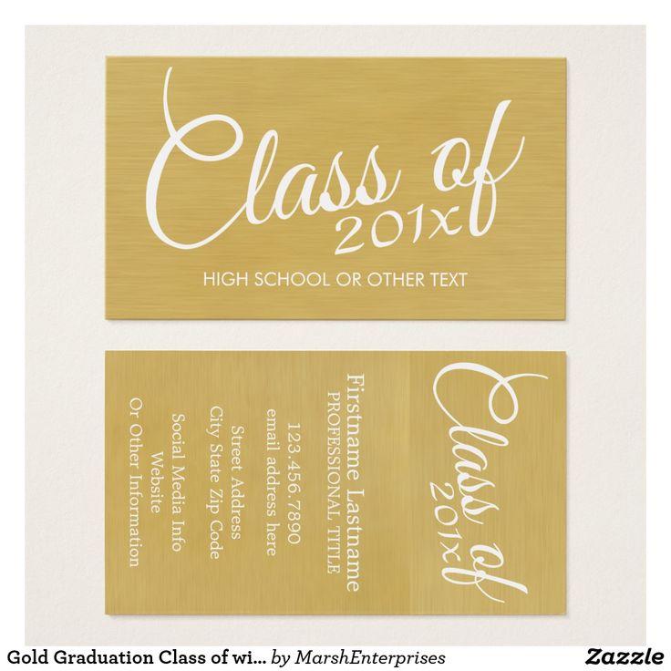 79 best Business Cards: Graduation images on Pinterest   Carte de ...