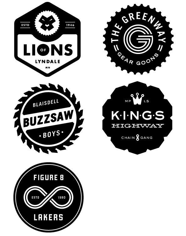Allan Peters Bike Gang Logos