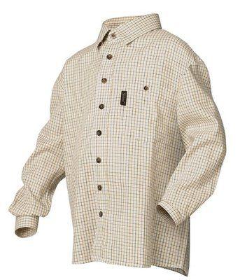 Seeland kinder overhemd model Parkin - kleur Ecru check