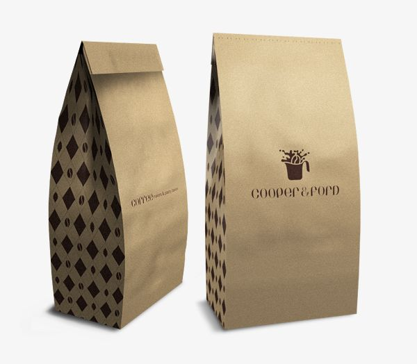 Cooper & Ford by Robinsson Cravents: Brown Paper Bags, Robinsson Cravent, Maker Pastries, Memorial Packaging, Packaging Design, Memorial Maker, Design Packaging, Pastries Baker, Side Bags