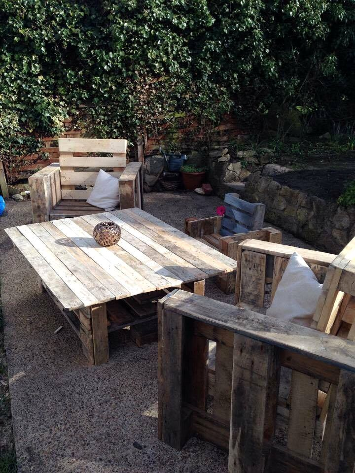 Backyard Furniture Out Of #Pallets  10 Easy Wood Pallet Projects U0026 Ideas |  101