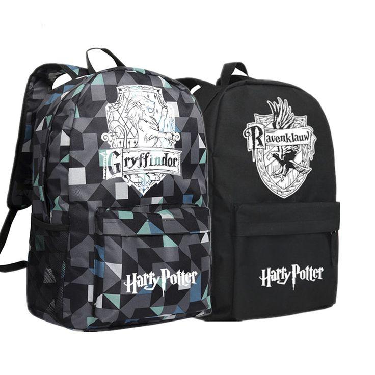 Gyffindor Hufflepuff Ravenclaw Slytherin School Bags FREE Shipping Worldwide. Get it here: https://thinkpotter.com/gyffindor-hufflepuff-ravenclaw-slytherin-school-bags/ #harrypotter #hogwarts #hermionegranger #ronweasley #dumbledore #voldemort #emmawatson #danielradcliffe #rupertgrint #dracomalfoy #tomfelton #jkrowling #newtscamander #snape #lunalovegood #quidditch #goldensnitch