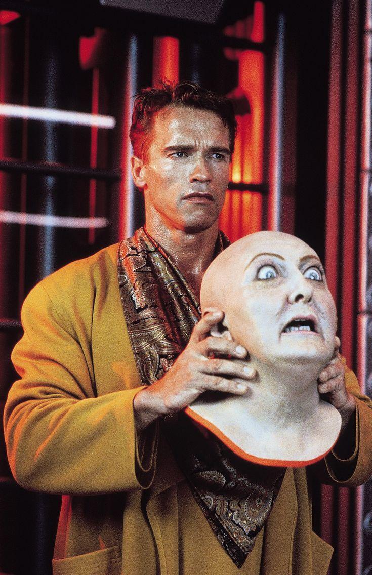 Total Recall [1990] directed by Paul Verhoeven, starring Arnold Schwarzenegger, Rachel Ticotin, Sharon Stone, Michael Ironside, and Ronny Cox.
