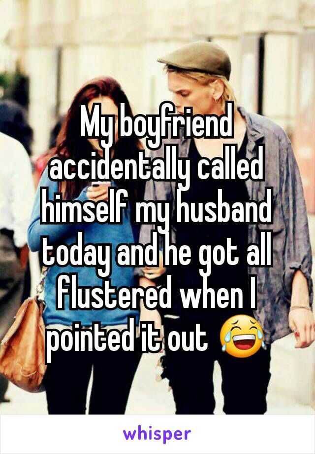 """""""Husband""""?? What does this mean?!     19/02/2017"""