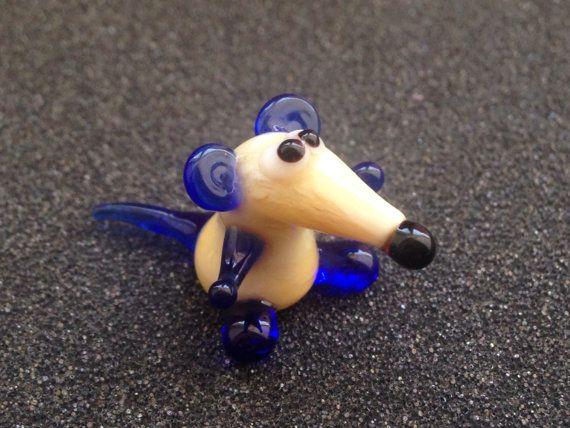 Glas rat beeldje dieren glas ratten sculptuur kunst glas rat speelgoed murano miniatuur dieren tiny baeodon figuur giften voor Mamma