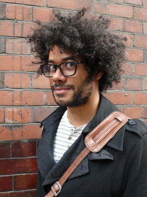 Richard Ayoade - Love his messier fro
