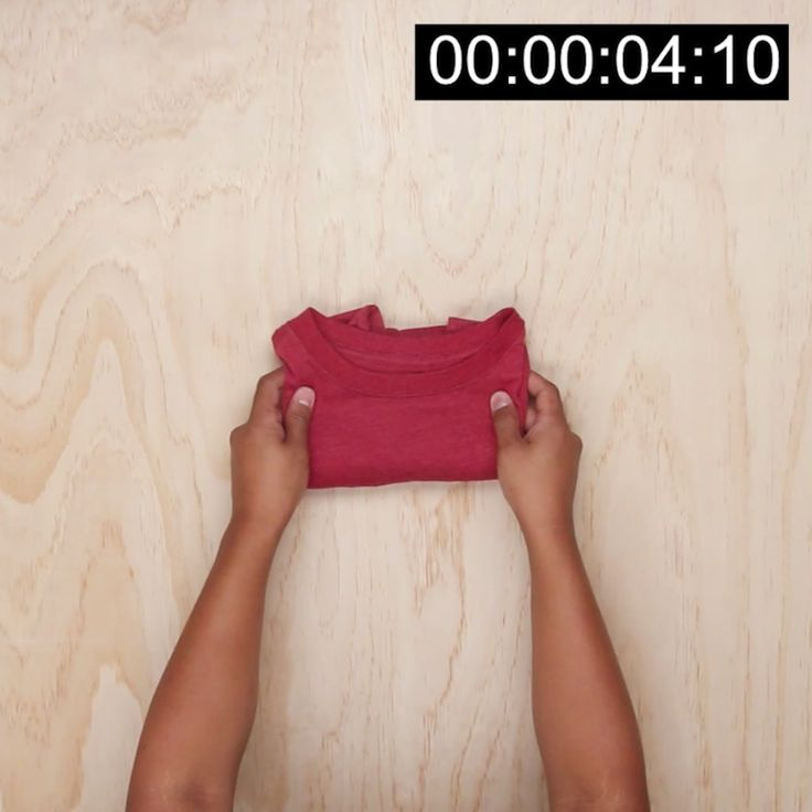 5 Second Shirt Fold Trick