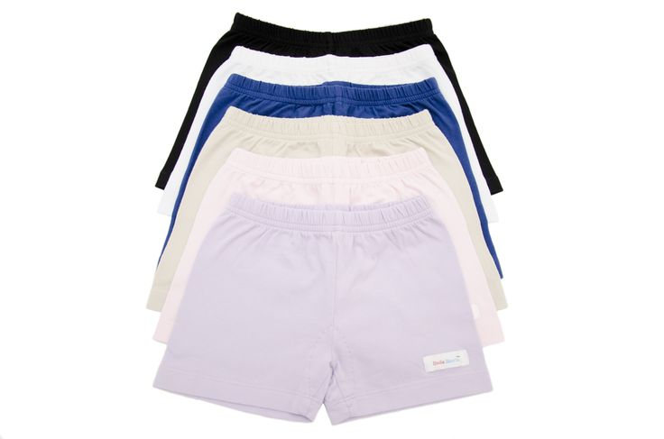 Get all 6 colors or choose 1 color and Save over 20% plus receive free shipping! This great bundle of 6 collection of UndieShorts will compliment your girls wardrobe. UndieShorts® are an All in One Pr