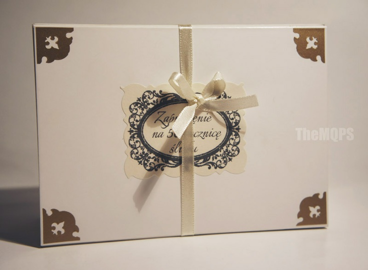 TheMQPS ♥ Art: * 50 rocznica ślubu - zaproszenia * zapraszam o oglądania, komentowania i ... zamawiania: themqps.blogspot.com :)