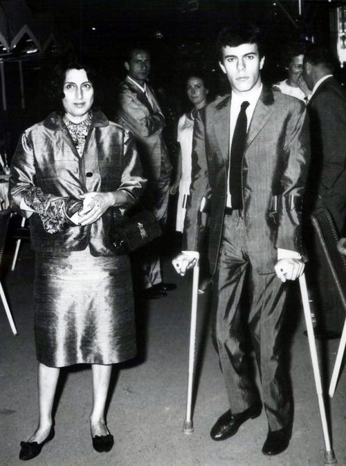 anna magnani with son Luca