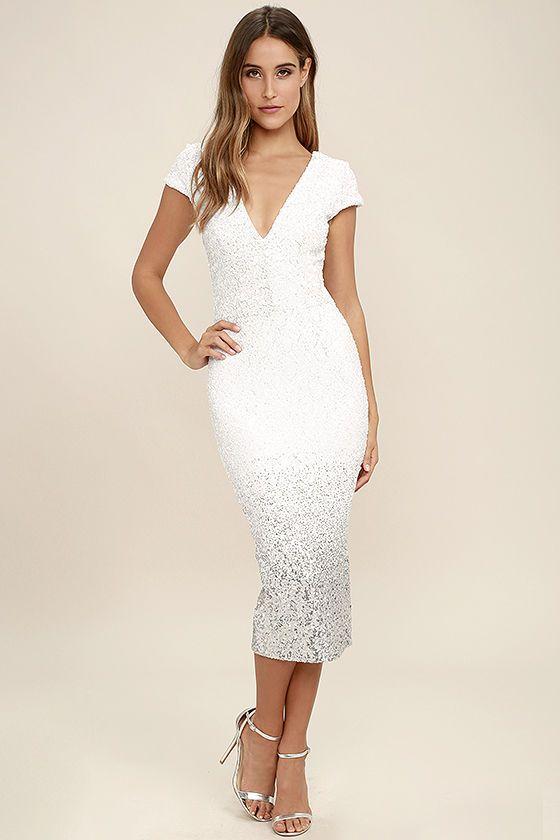 Missguided sequin dress maxi skirt