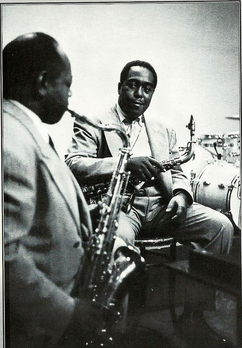Charlie Parker, Coleman Hawkins - two hombres indeed!