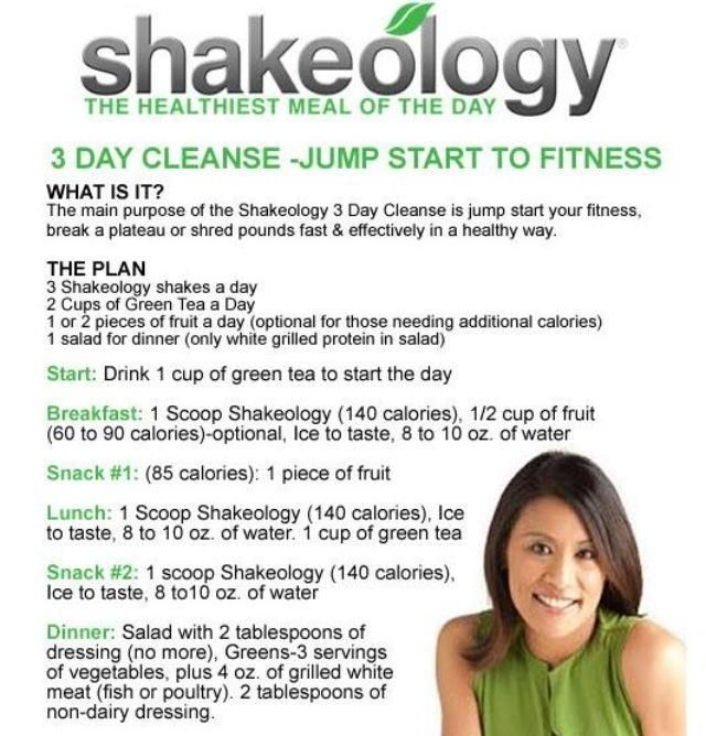 Are you looking for a way to jump start your health and fitness plan or getting ready for that New Year's Resolution?Shakeology Cleanse Jump Start! It's a great 3 Day cleanse! Contact me for more info and how to get started on a workout plan that is right for YOU!