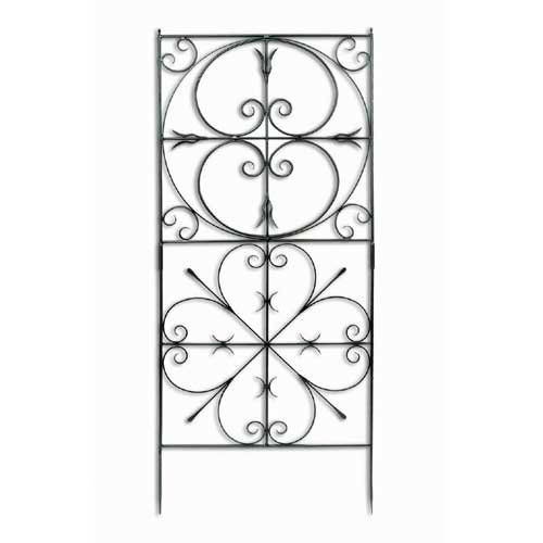 Achla Designs Aldrich Garden 6.25-ft. Iron Trellis | from hayneedle.com