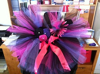 Tutu Tutorial homecoming class color day and spirit day?!
