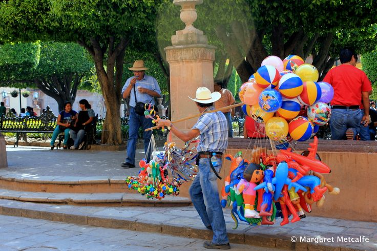 Just another day in San Miguel...