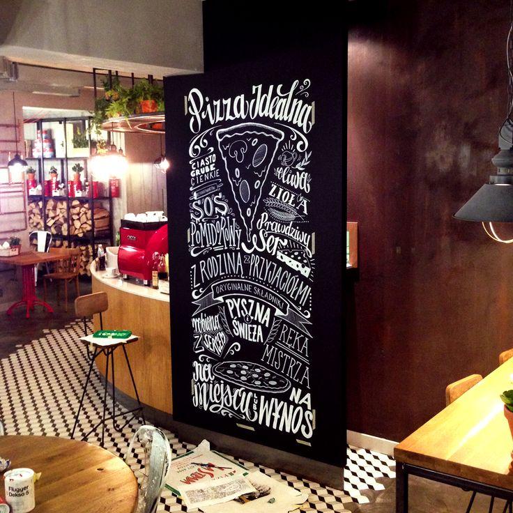 Handlettering wall at La Strada, Wejherowo, Poland by Aleks Skrok