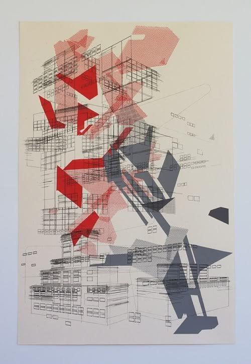 Ben Kafton #Architecture #Graphic