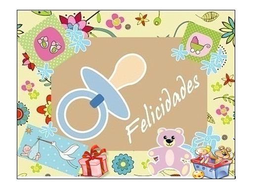 Tarjetas de felicitaciones para bebés recien nacidos - Imagui