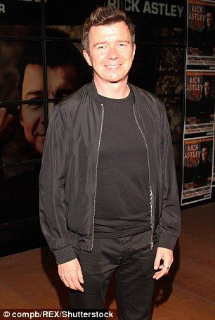 Rick Astley's back after 30 years!                                                                                                                                                                                 More
