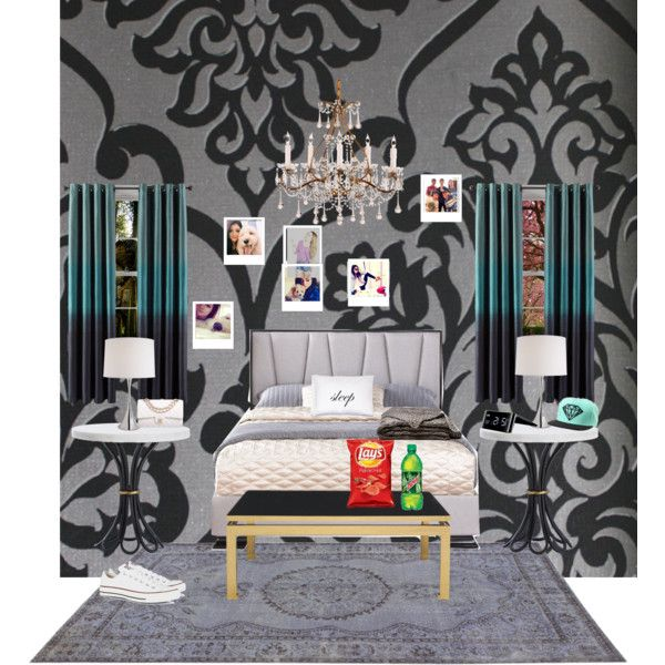 My New Room! By Chrissy1107 On Polyvore Featuring Polyvore Fashion Style  Converse Chanel Astek Studio
