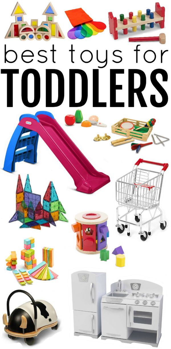 Best Toys for Toddlers:  Awesome ideas categorized by early childhood developmental domains!  Timeless toys that make learning fun...perfect toddler gifts for birthdays or Christmas!