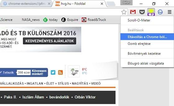 Tech: Több hasznos újítás jött a Chrome-ba - HVG.hu