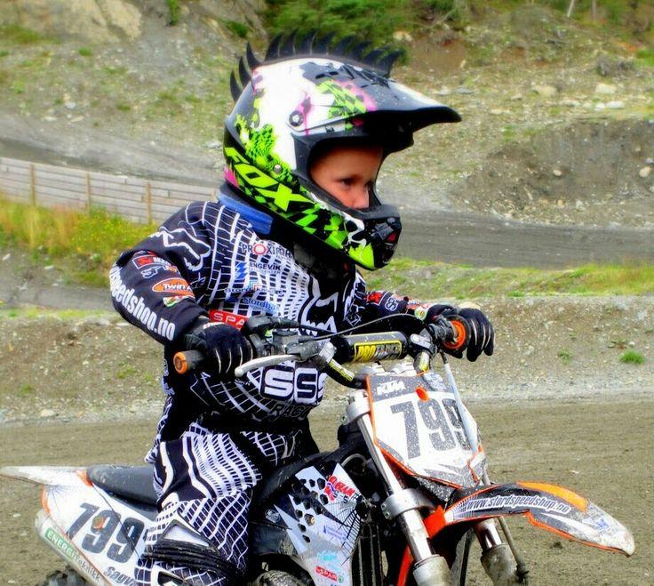 4 yr old kid. #motocross#ktm#norway#fox#dirtbike | boys<<motocross