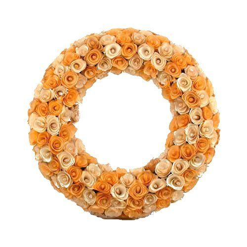 20 Best Wood Curl Wreath Images On Pinterest