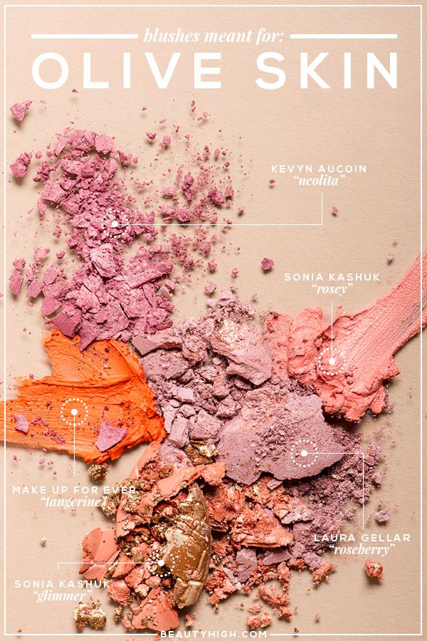 The Ultimate guide to the best blushes for ALL skin tones | Blushes for olive skin | BeautyHigh.com