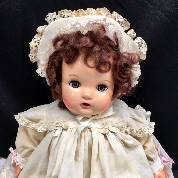 1936 LITTLE GENIUS Madame Alexander GREAT DEPRESSION Composition Antique Doll | Dolls & Bears, Dolls, By Brand, Company, Character | eBay!