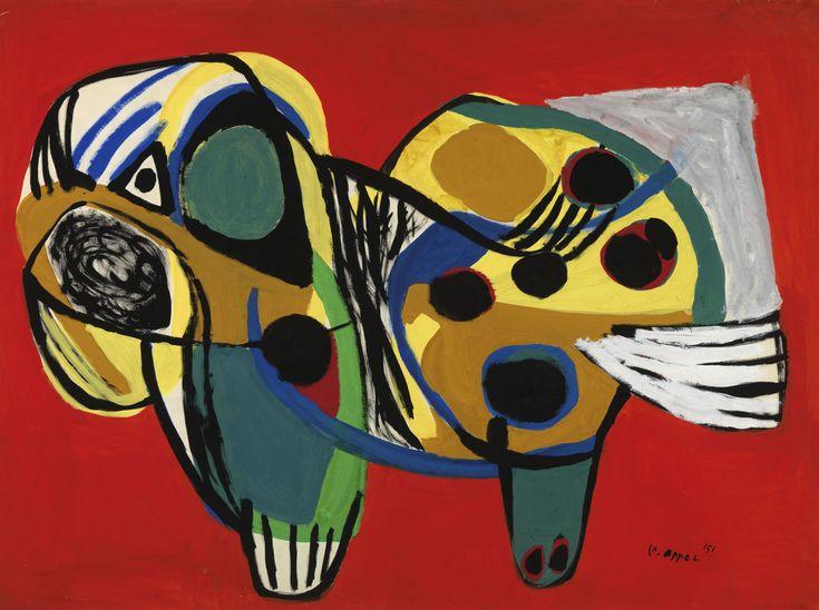 """Karel Appel, """"Animal n° 14"""" (1951)"""