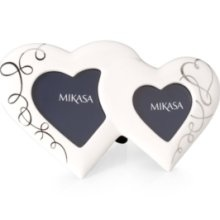 Mikasa Picture Frame, Love Story Double Heart