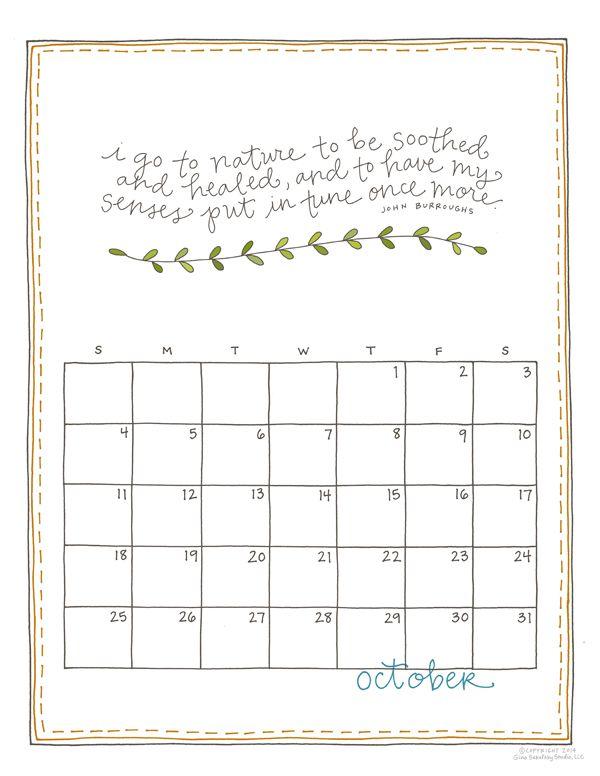 Kickstarter Calendar Planner : Best images about printables on pinterest printable