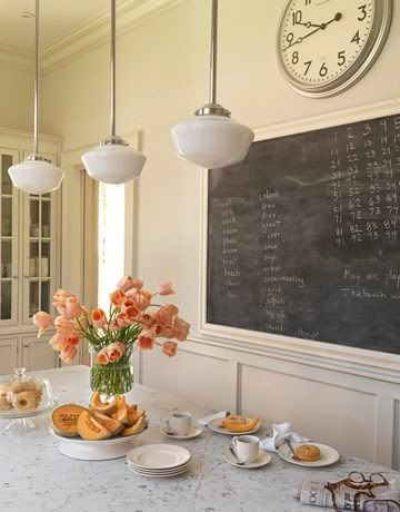 Chalkboard Paint Ideas & Inspirations for the Kitchen {Walls, Fridge, Frames, Cabinets, Doors & More} - bystephanielynn