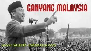 Konfrontasi indonesia dengan malaysia sebenarnya
