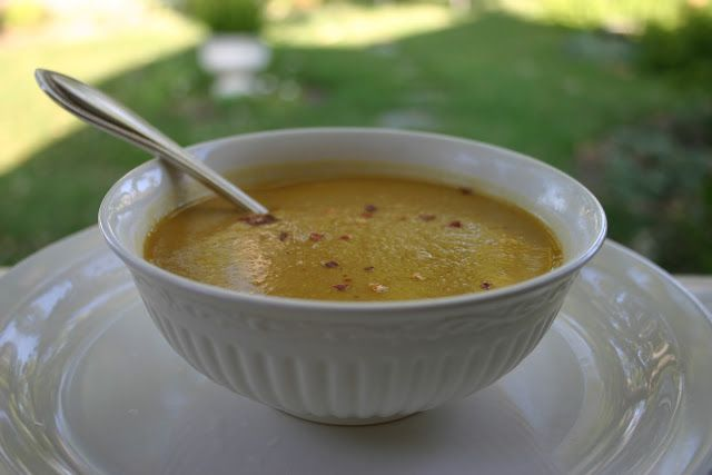 The Gardener's Cottage: oh yum - butternut squash soup*