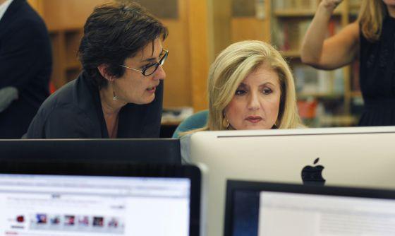 Montserrat Domínguez, Directora Editorial de El Huffington Post ya tiene el espacio en línea. Se lanzó finalmente a las 00:42 (horas en España) e invito a los usuarios a ver la primera portada del medio.